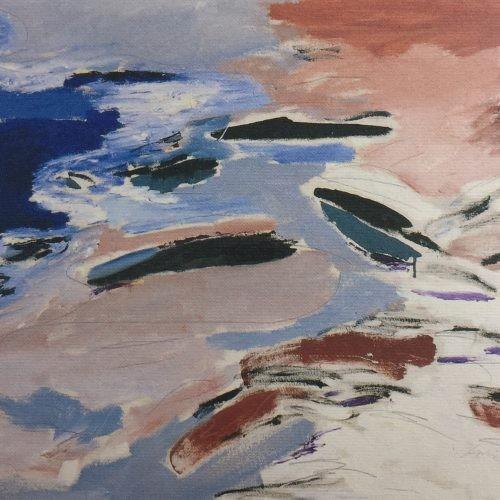 1989 Playa de San Agustin 73 x 102 cm